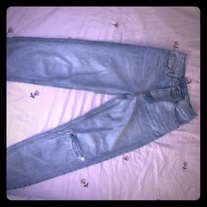Levi's light wash denim